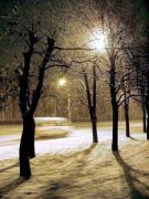 night first snow